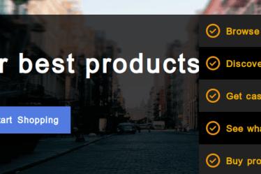 Online shopping, Baggout, Cashback