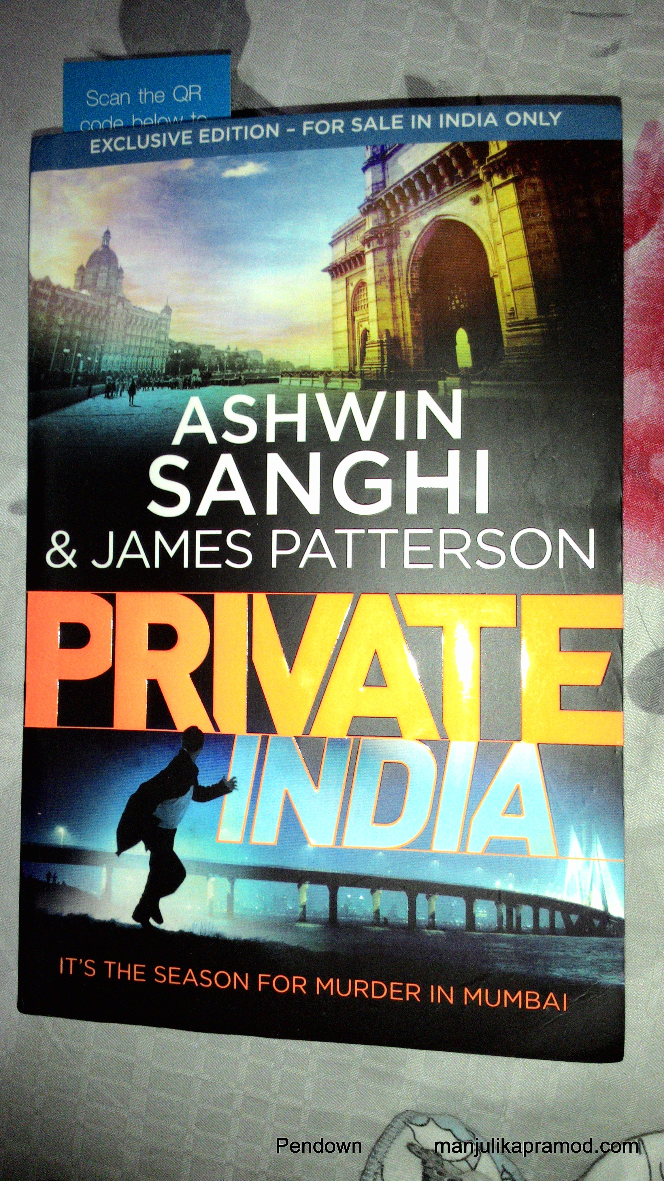 Ashwin Sanghi, James Patterson, Thriller, Private India