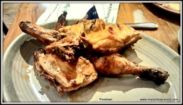 Chicken at Nandos, Cyber Hub