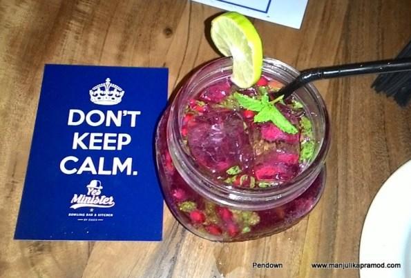 Refresh Cream-Pomegranate Drink