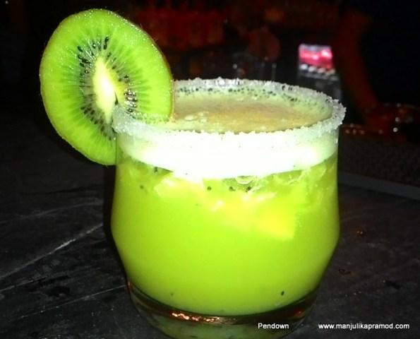 The tempting Kiwi Drink , New Delhi