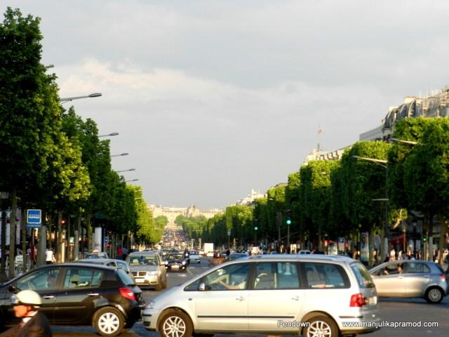 Place Charles de Gaulle (originally named Place de l'Étoile), Paris, junction, street
