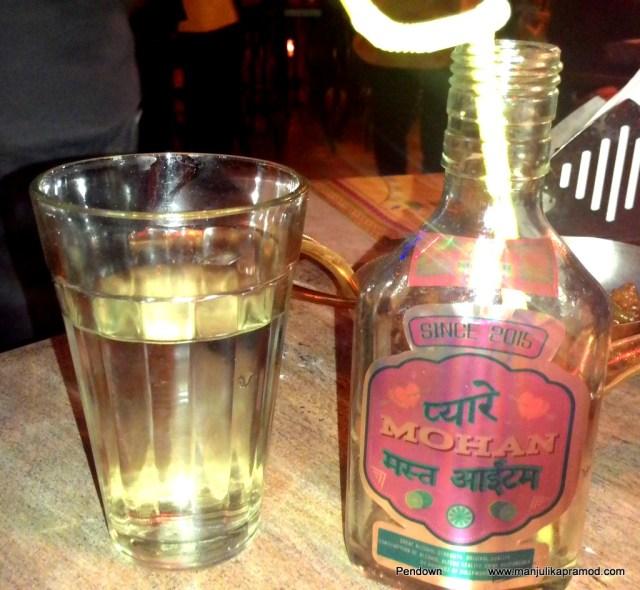 Desi pavva, Theka, Garam Dharam