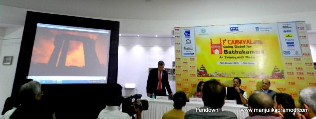 Telangana Tourism, Bathukamma, PHD Chamber, Hyderabad, Travel