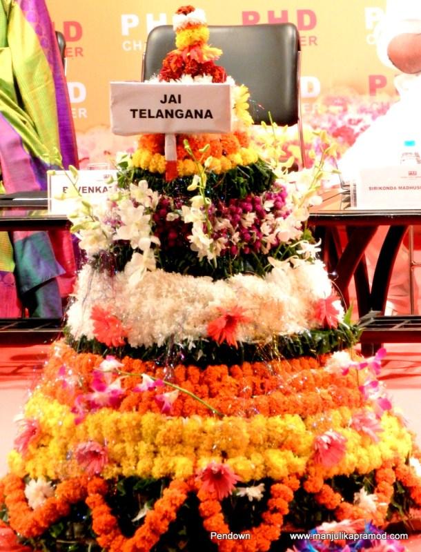 Bathukamma, Festival, Telangana, Flowers, PHD chamber