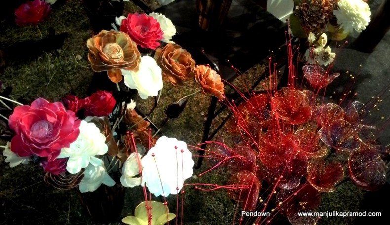 Northeast festival, Flowers,