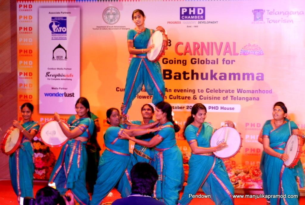 THE DAPPU PERFORMANCE—a lively drum beating dance performed by ladies.