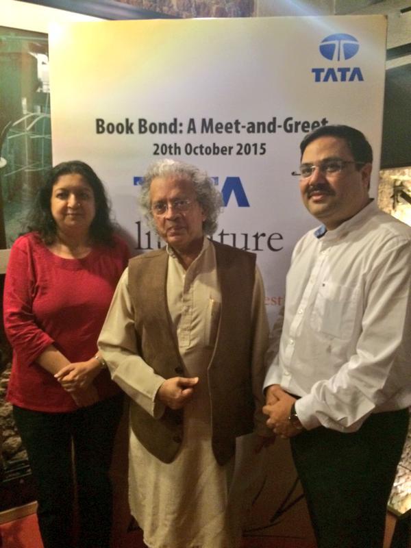 Ravi Subramanian, Anil Dharker, Gehlot