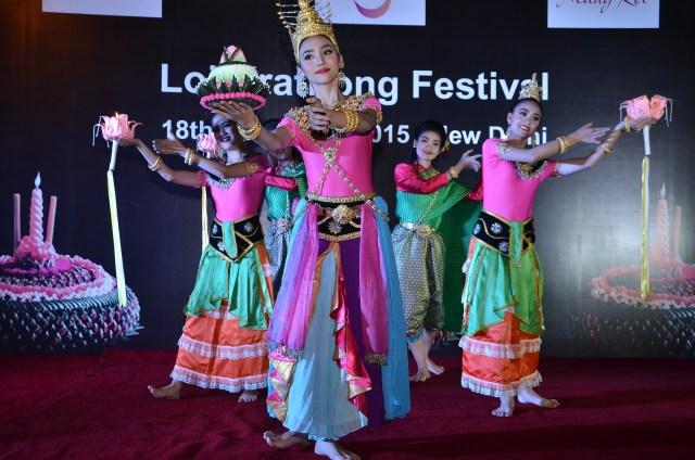 Loi Krathong festival celebrations