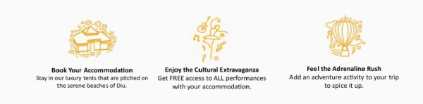 Enjoy the Cultural Extravaganaza, Festa De Diu