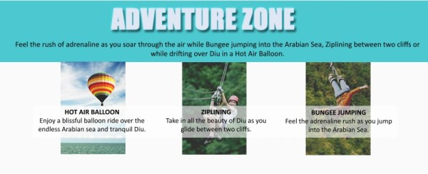 Festa De Diu-Adventure Zone-Adrenaline Zone