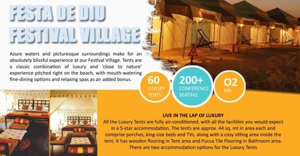 Festa De Diu-Festival Village, Beach festival, India, Visit India, Travel blogger, Travel