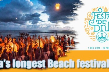 Festa Diu-Biggest Beach Festival of Asia, Travel India, Travel blogger
