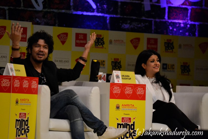 Papon, It rocked the stage with his music, North East