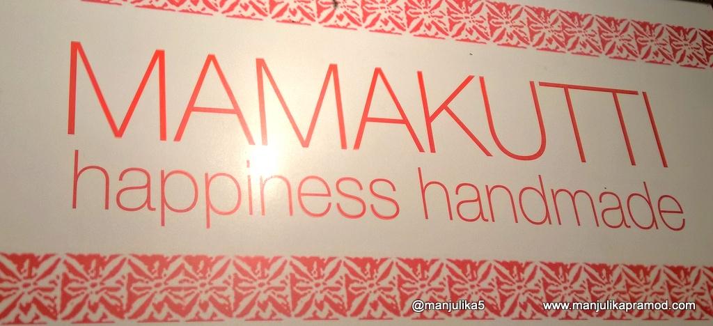 Mamakutti, Happiness, Hand made