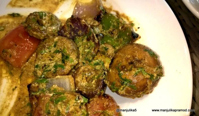 Mushroom Tikka-Westin Gurgaon-Bara Darhi