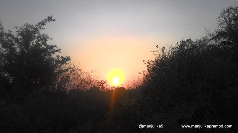 Sunset, Chambal Valley