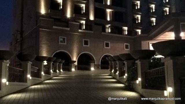 Novotel Imagica in the Night
