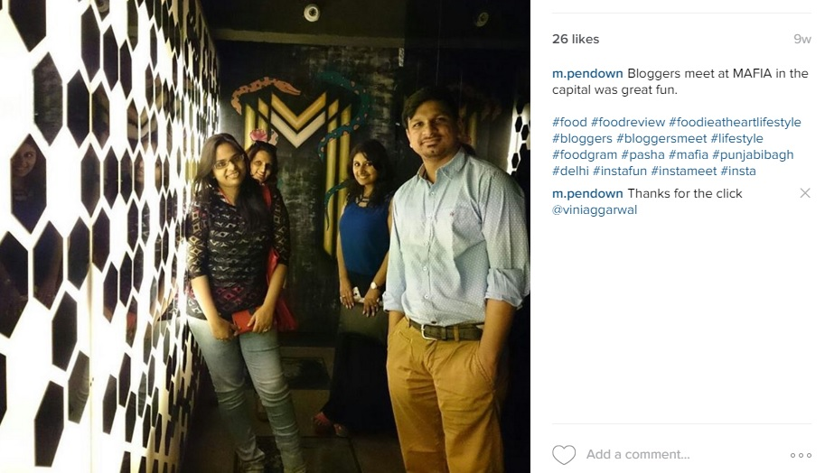 Bloggers meet at MAFIA