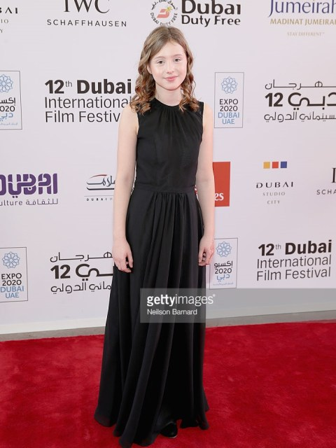 during day four of the 12th annual Dubai International Film Festival held at the Madinat Jumeriah Complex on December 12, 2015 in Dubai, United Arab Emirates.