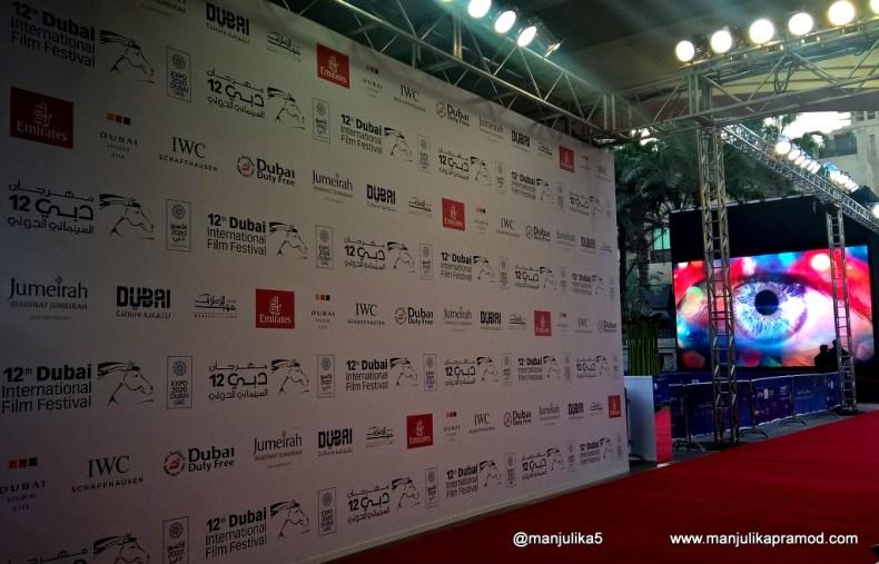 Red Carpet at Dubai International Film Festival
