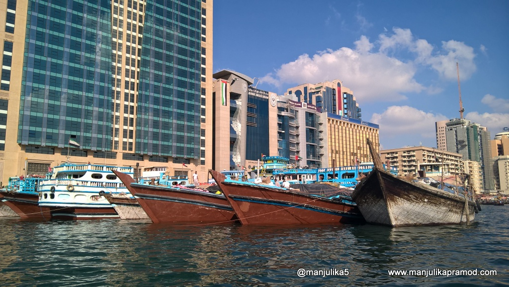 Bur Dubai, Deira, Creek , Abra ride