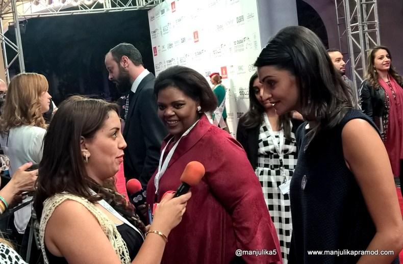 Zinzana and star cast at Dubai International Film Festival