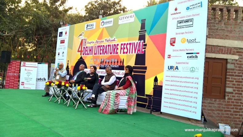 4th Delhi Literature Festival-Tasleema Nasreen