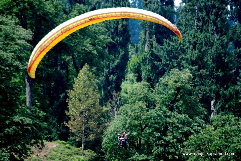 Adventure activity, In the sky, Travel blogger, Manali