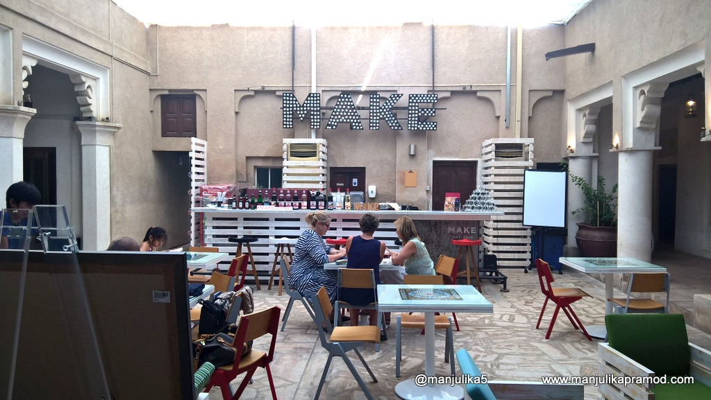 Make, Restaurant, Art Gallery, Cafe