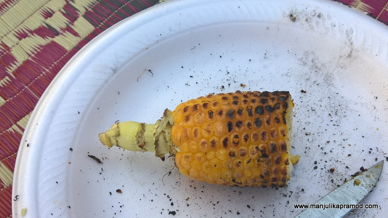 Roasted Corn-Picnic time it is!