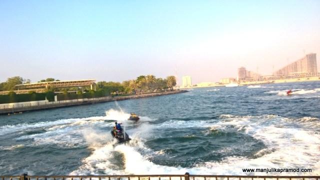 Water activities-Al Mamzar Park in Dubai