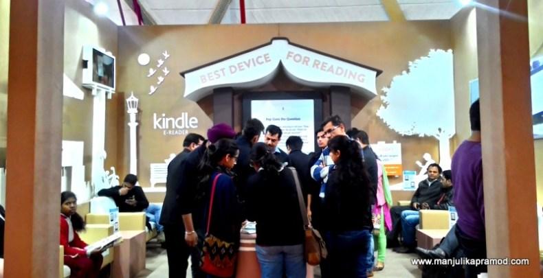 Kindle or Books, World Book Fair 2016, New Delhi