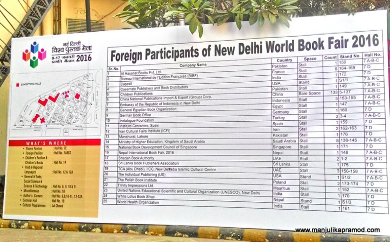 Foreign Participants in the Book Fair