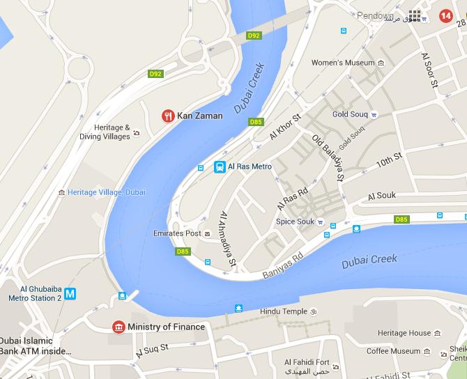 Al Sindagha, Google map, Travel in Dubai, Travel blogger