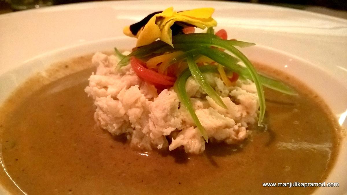 Crab Curry, Good crab curry in Delhi, Food blogger, Delhi