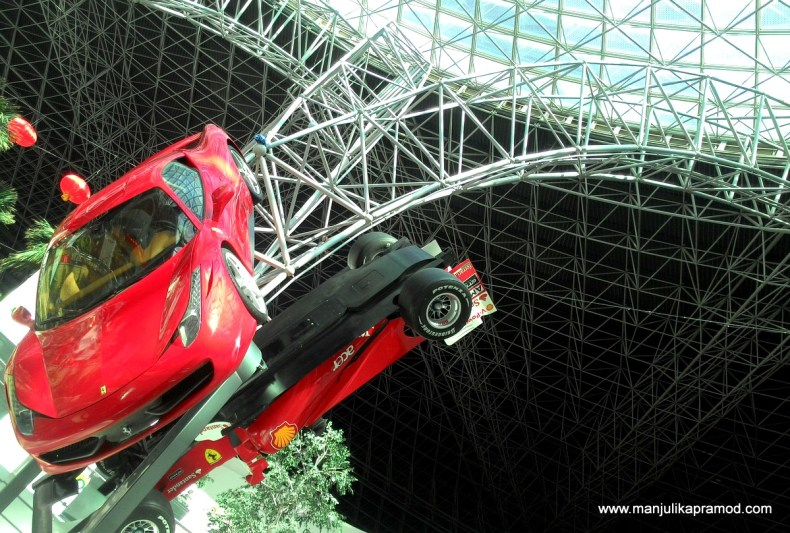 Flying Aces, Ferrari World, Yas Island