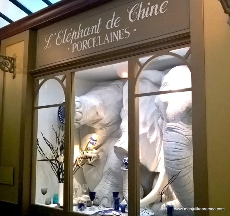L' Elephant de Chine Porcelaines