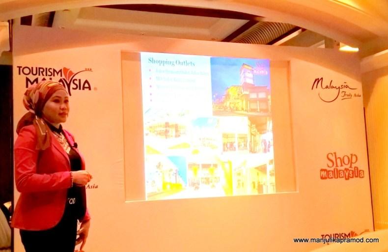 Ms. Baizuri Baharum, Deputy Director-Shopping Secretariat