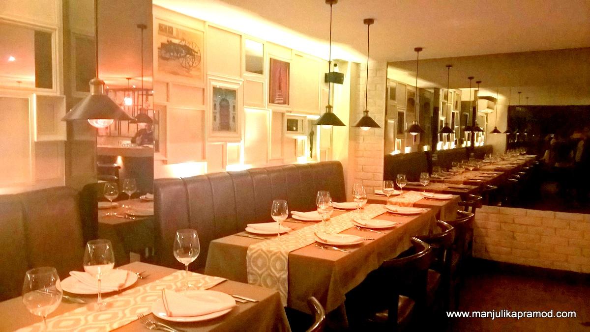 Tashan in Delhi, Restaurant review, Ne