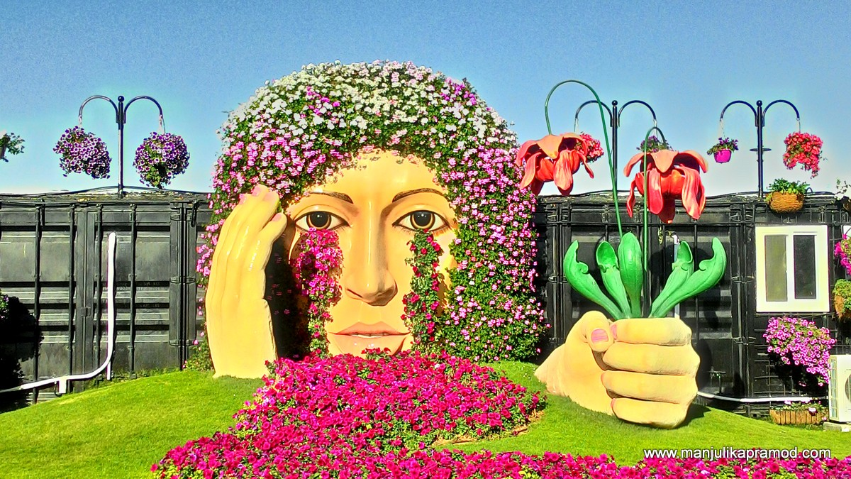 25 Pictures: A Riot Of Colors Is Dubai Miracle Garden