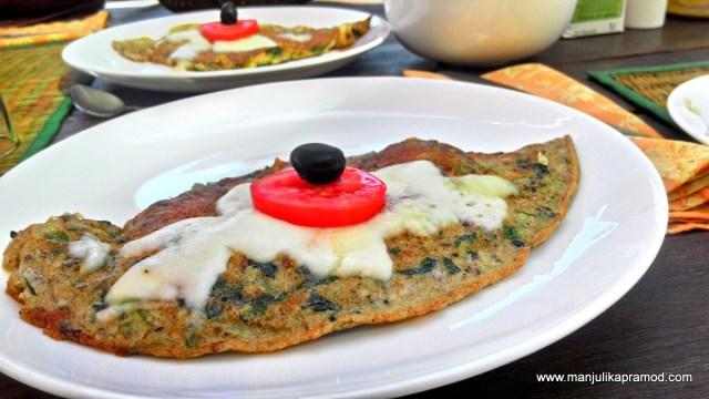 Omelette at 4tables restaurant, Frank