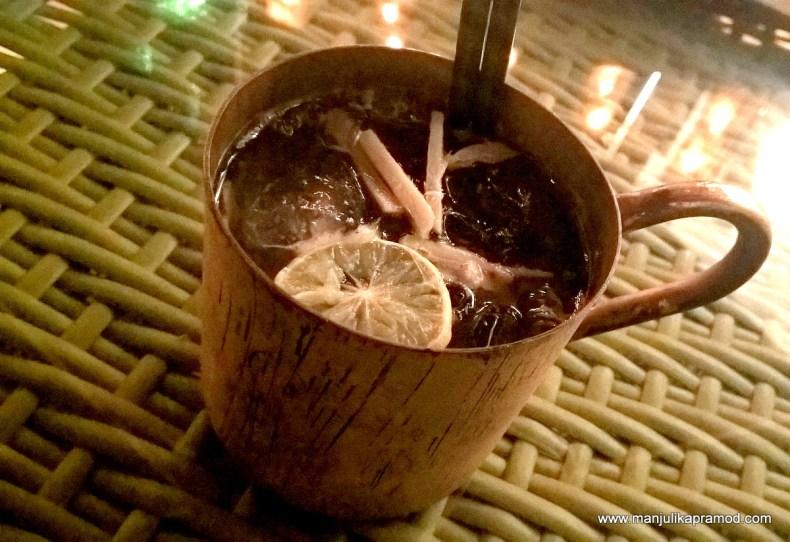 Non-Alcoholic Ginger Mocktail
