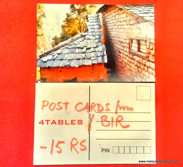 Postcards from Bir, ShopArt ArtShop 2, India, Himchal