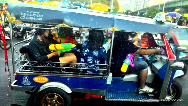 Tuk Tuk, Holi, Thailand, Songkran, festival