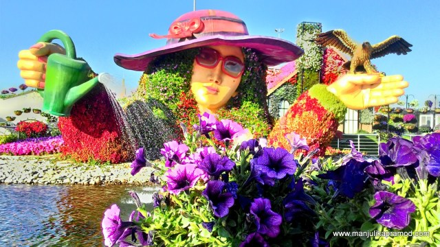 Pretty Pretty Girl, Flower, garden, Dubai