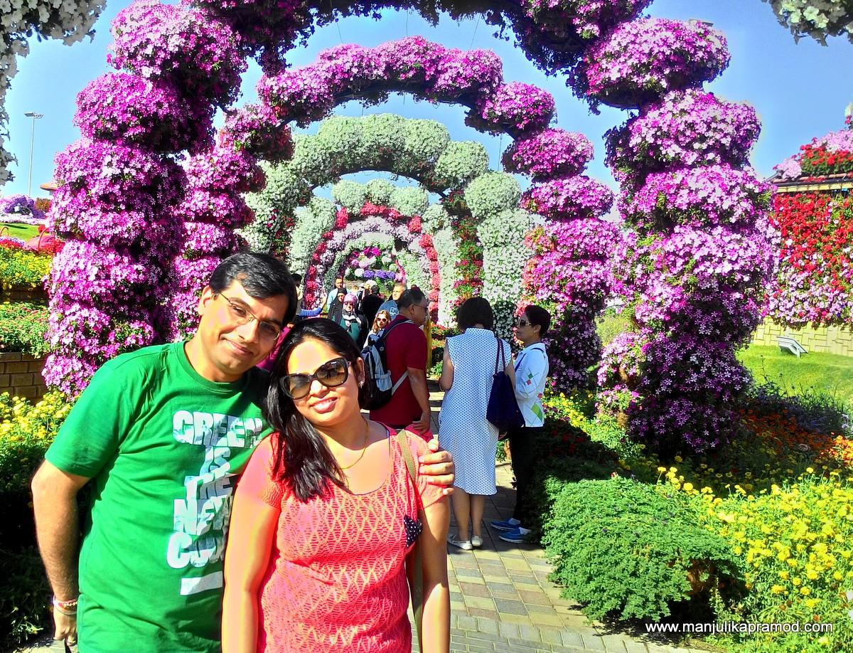 Garden, Flowers, Family, Travel, Dubai
