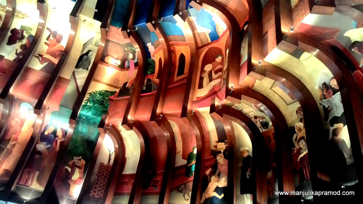The Great Procession, Art Walk, Lobby, ITC Maurya