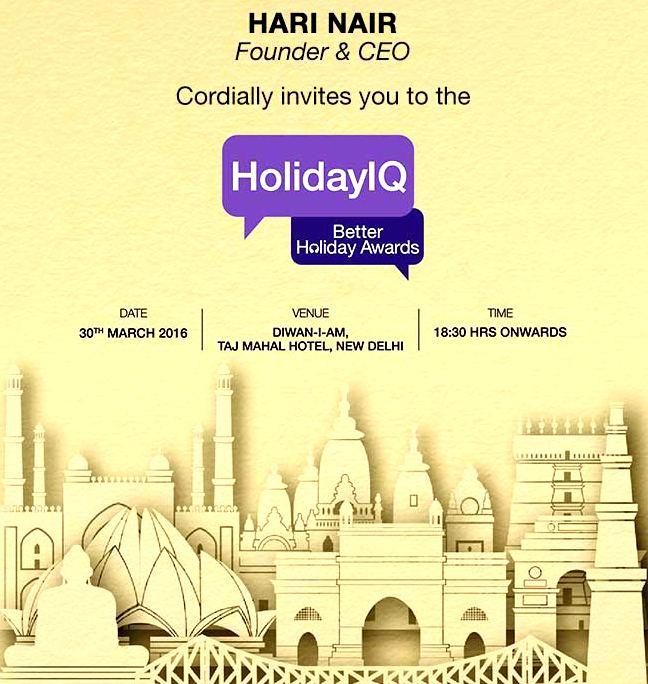 Holiday IQ, Awards, Better Holiday Awards, Delhi, Travel blogger