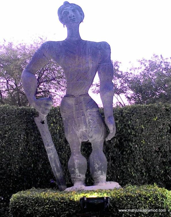 The Ashoka Sculpture